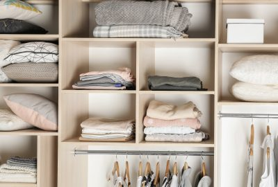 difference between decluttering and organizing