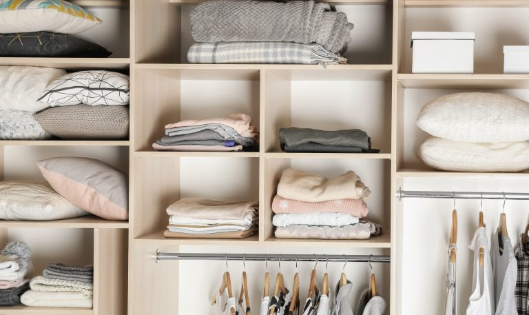 The difference between decluttering and organizing
