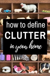 what clutter is