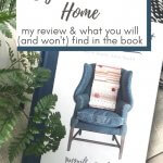 review of cozy minimalist home