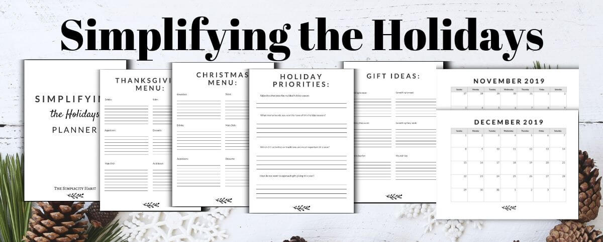 The best things to declutter before the holidays