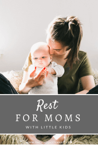 sabbath rest as a mom