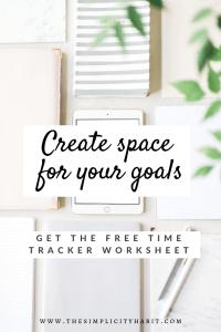 create space goals