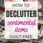 sentimental items to keep