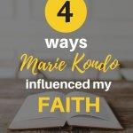 Marie Kondo's methods faith