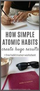 simple atomic habits