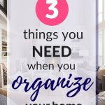 best organizational system for your home
