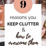 reasons you keep clutter