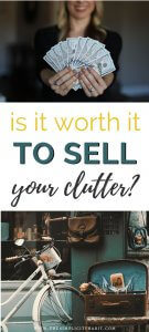 tips on selling your clutter