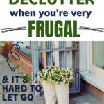frugal decluttering