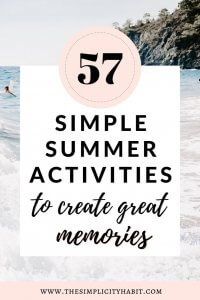 simple and frugal fun summer activities for kids