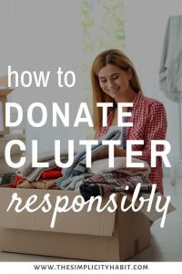 how to donate responsibly