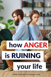 why you need to let go of your anger
