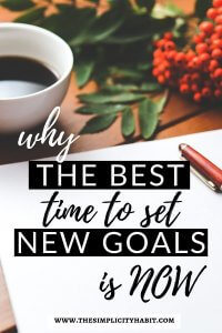 best time to set new goals