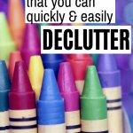 easy things to declutter