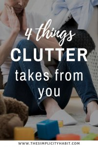 negative effects of clutter