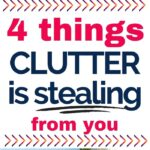 clutter negatively impacts