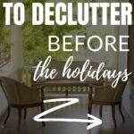best areas to declutter