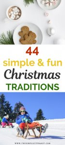 best simple and frugal family christmas traditions
