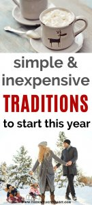 simple and frugal holiday traditions