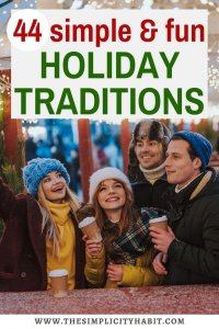 best simple holiday traditions