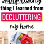 how decluttering makes you grateful