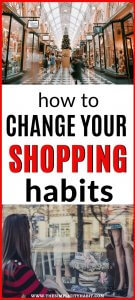 be more intentional with shopping