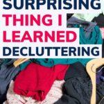 decluttering makes you more grateful