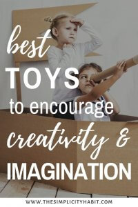 toys to encourage creativity and imagination