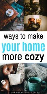 make your home more cozy