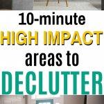 easy 10 minute decluttering tasks