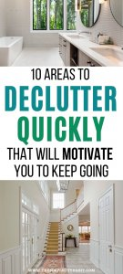 easy 10 minute decluttering tasks