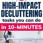easy areas to declutter