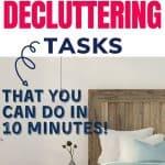 high impact decluttering tasks