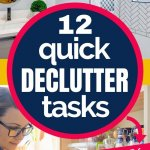 easy and quick decluttering tasks