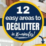 high impact areas to declutter