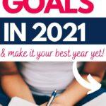 set goals new year