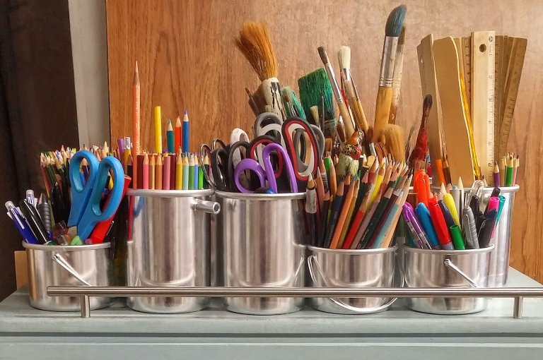 How to Organize and Store Kids' Arts and Crafts Supplies