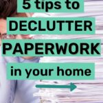 simplify and declutter paperwork