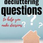 best decluttering questions