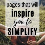 facebook pages that will inspire you to live more simply
