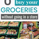how to buy groceries