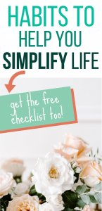 habits that will help you to simplify your life
