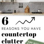 countertop clutter