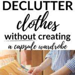 simple alternative to a capsule wardrobe