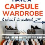 simple alternative to capsule wardrobe
