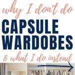 alternative to capsule wardrobe