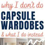 alternative to a capsule wardrobe