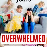 overwhelmed with clutter