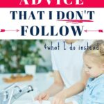 decluttering advice I don't follow